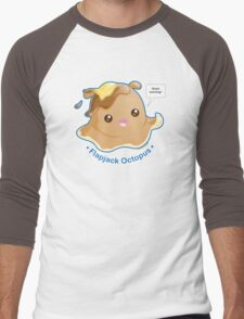 Cute Flapjack Octopus Men's Baseball ¾ T-Shirt