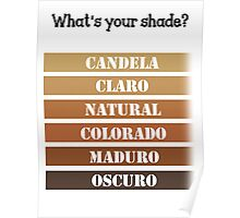 What's your shade? Poster Poster