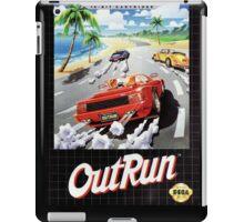 Out run Genesis Megadrive Sega Box cover iPad Case/Skin