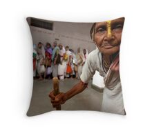 Savitri. Vrindavan Throw Pillow
