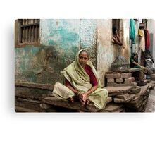 Resting. Varanasi Canvas Print