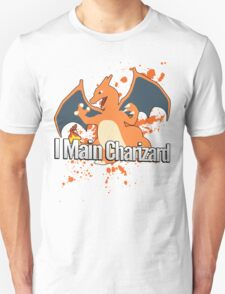 I Main Charizard - Super Smash Bros. T-Shirt