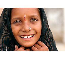 Rajuri. Pushkar Photographic Print