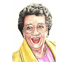 Strong women characters of Coronation Street : Betty Photographic Print