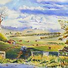 Glenfern Road Farm by Christine Lacreole