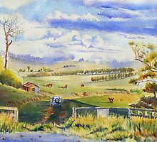 Glenfern Road Farm by Christine Lacreole