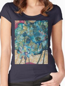 """""""Metamorphosis"""" from the series """"In the Lotus Land"""" Women's Fitted Scoop T-Shirt"""