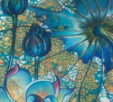 """""""Metamorphosis"""" from the series """"In the Lotus Land"""" Sticker"""