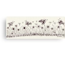 Springtime In A Flutter Canvas Print