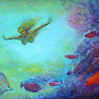 Diving on the Reef by Malcolm McCoull