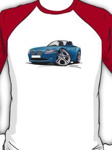 BMW Z4 (E85) Blue T-Shirt