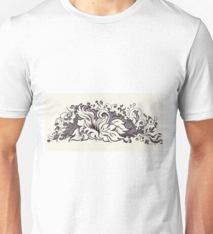 A Floral Fantasy Unisex T-Shirt