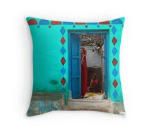 Ram Devi. Orchha Throw Pillow
