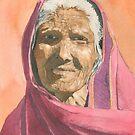 Indian grandmother by ian osborne