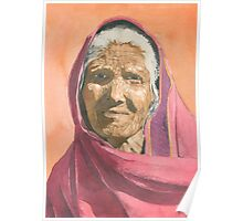 Indian grandmother Poster