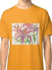 Oriental Lilies Classic T-Shirt