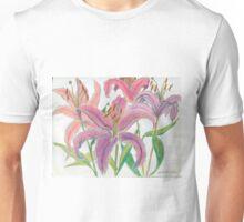 Oriental Lilies Unisex T-Shirt