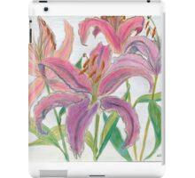 Oriental Lilies iPad Case/Skin