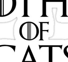 Mother of Cats T Shirt Sticker