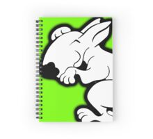 English Bull Terrier Snug Spiral Notebook
