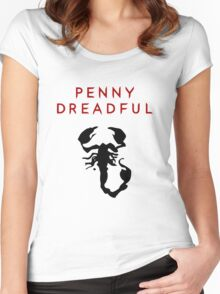 Penny Dreadful - Scorpion Women's Fitted Scoop T-Shirt
