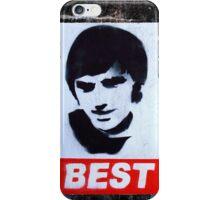 George Best Wall Art iPhone Case/Skin