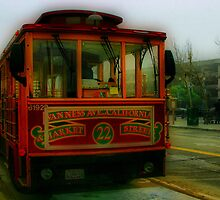 San Francisco Trolley by Barbara  Brown