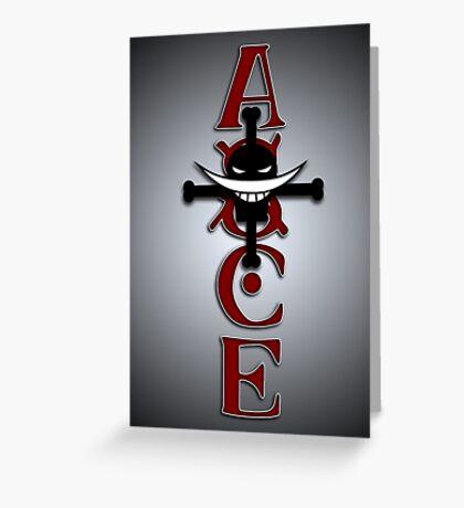 Ace Tattoo Greeting Card