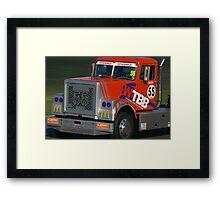 Super Trucks Framed Print
