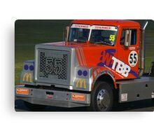 Super Trucks Canvas Print