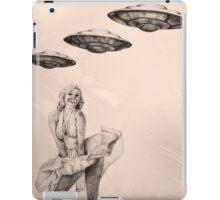 Marilyn Monroe UFO's Silence  iPad Case/Skin
