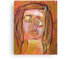 lil girl Canvas Print