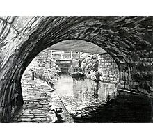 Gauxholme Highest Lock Photographic Print