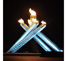 Olympic cauldron Photographic Print