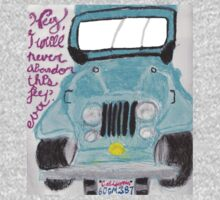 I'll Never Abandon This Jeep Ever One Piece - Short Sleeve