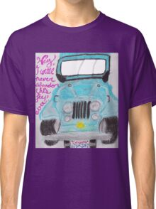 I'll Never Abandon This Jeep Ever Classic T-Shirt