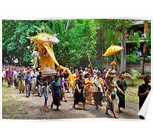 Balinese cremation ceremony 3 Poster