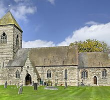 St Paul's Church, Scropton, Derbyshire by Rod Johnson