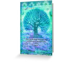 RUMI Joy quote Greeting Card