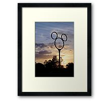 Orlando Sunset Framed Print