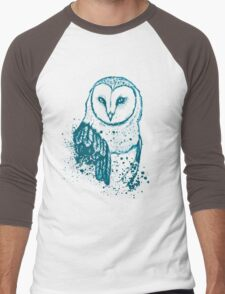 Owl Tee Men's Baseball ¾ T-Shirt
