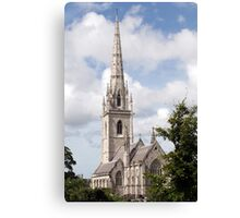 Marble Church Canvas Print