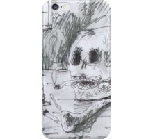 THE SMOKING ARTIST(C2007) iPhone Case/Skin