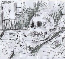THE SMOKING ARTIST(C2007) by Paul Romanowski