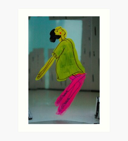 Dancer - Move that body Art Print