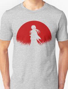 Red Moon Samurai T-Shirt