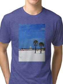 Clearwater Beach, Ahhhhhh! Tri-blend T-Shirt