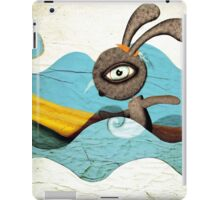 Surfing Waves Swirls iPad Case/Skin