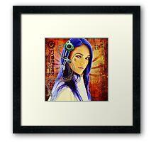 Megan Electronic Framed Print