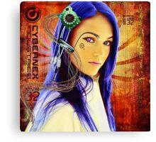 Megan Electronic Canvas Print